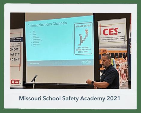 Missouri School Safety Academy 2021